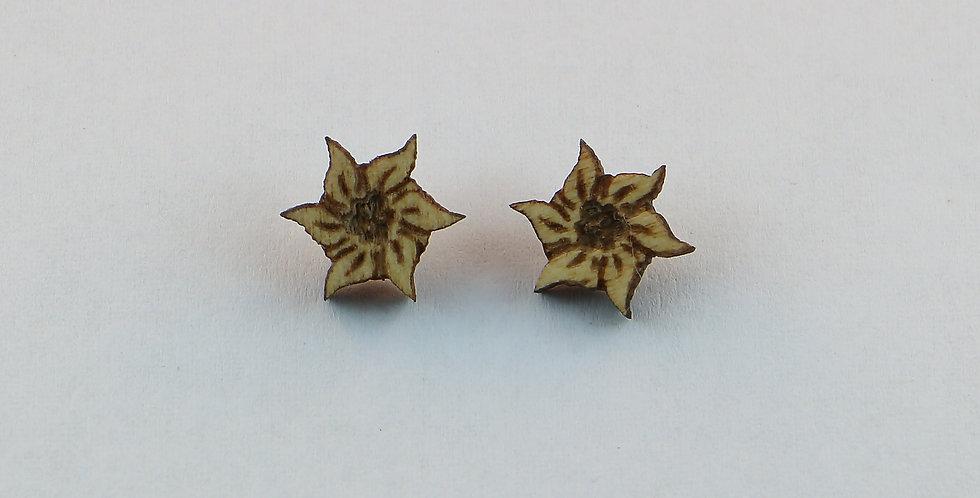 Ohrstecker edelweiss
