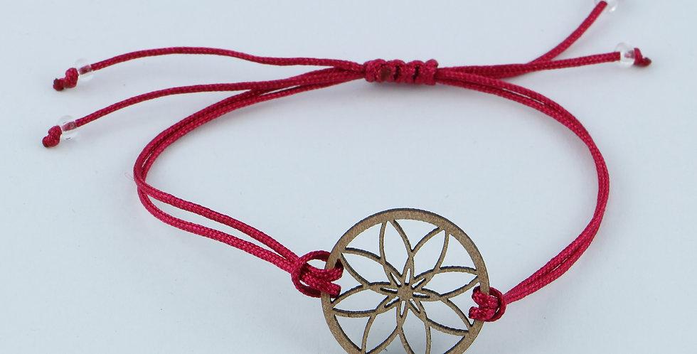 Schnur Armband Flor