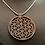 Thumbnail: Halskette flor de la vida