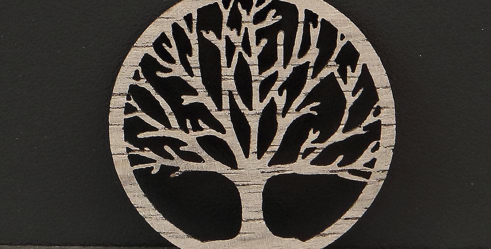 Coin Holzeinlage árbol de la vida