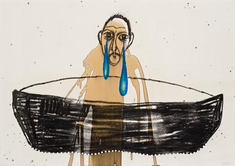 Balsero: dos lágrimas azules, 1994.