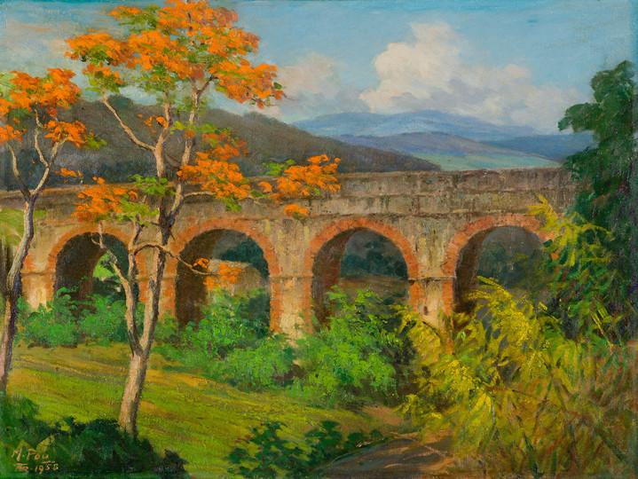 Puente de los Frailes, 1958.