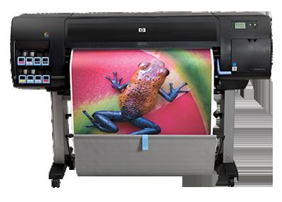 """HP DesignJet Z6100 42"""" & 60"""" Pigment UV Printers"""