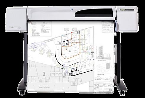 "HP DesignJet 500 24"" & 42"" Large Format Plotters"