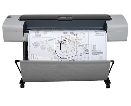 "HP DesignJet T1100 44"" Printer / Plotter Lease"