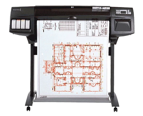 "HP DesignJet 1050C 36"" Printer / Plotter"
