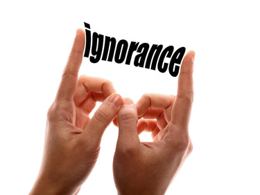 I is for Ignorance
