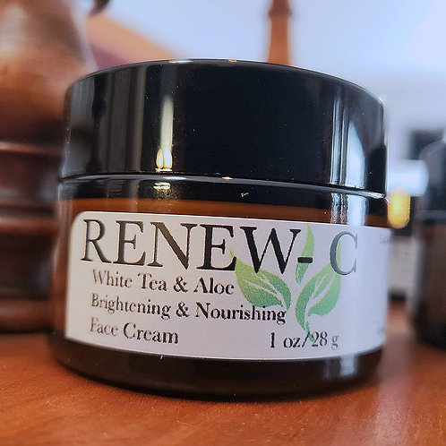 RENEW-C White Tea & Aloe Brightening Face Cream W/Camu Camu