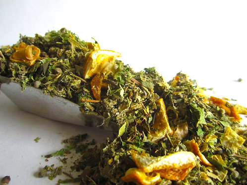 Mooncycle Loose Leaf Tea Blend and Compres