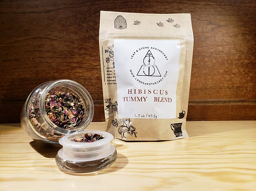 Hibiscus Tummy Loose Leaf Tea Blend
