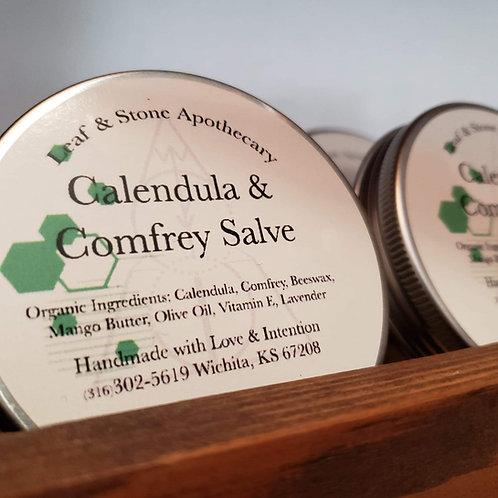 Comfrey & Calendula Beeswax Salve