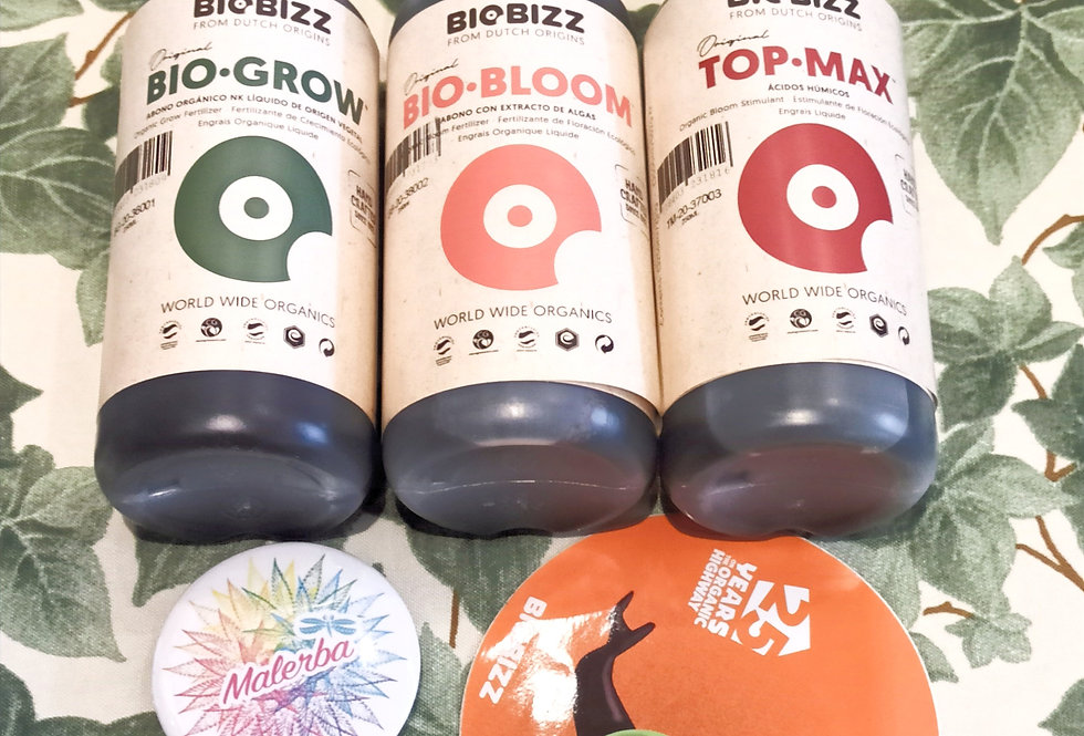 Kit BioBizz Indoor 250 ml
