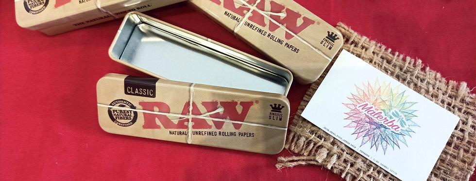 Mini Tin Box Raw