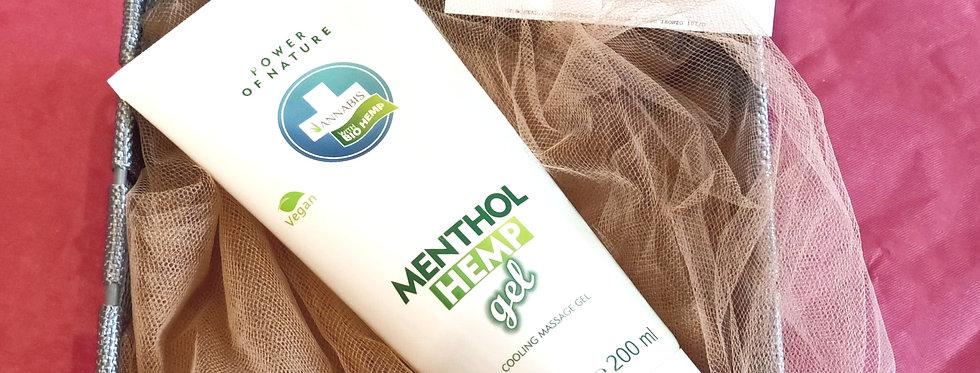 Menthol gel