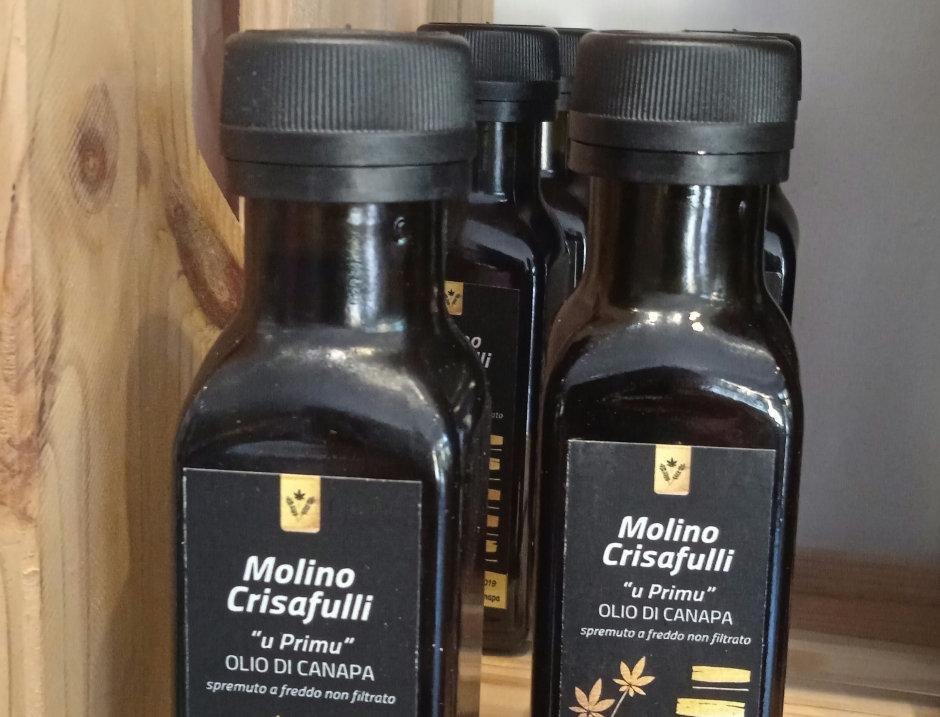Olio di Canapa Molino Crisafulli