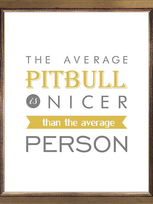 Pitbull Quote