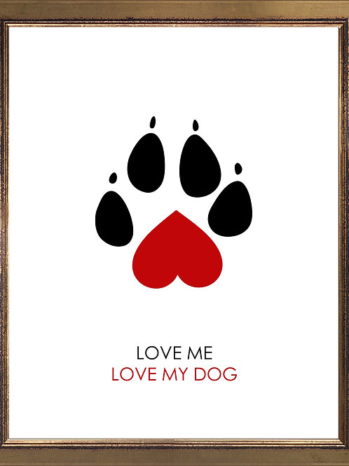 Quote Love Me Love My Dog