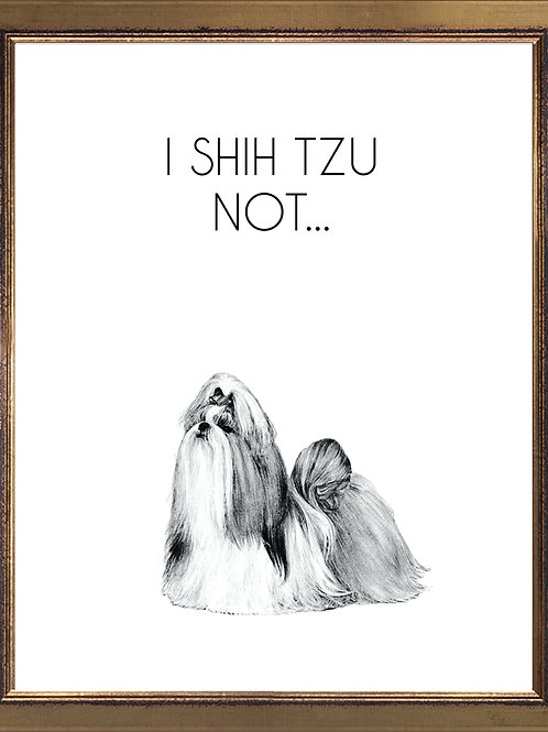 Shih Tzu Quote