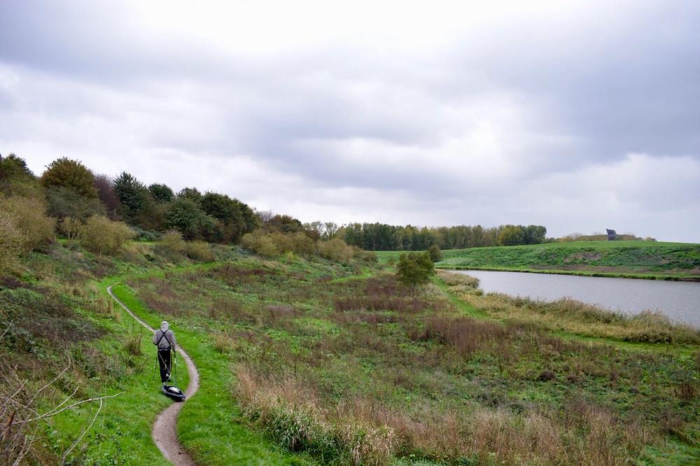 PULLKA in Rotterdam, Hoge Bergse Bos, sportief wandelen