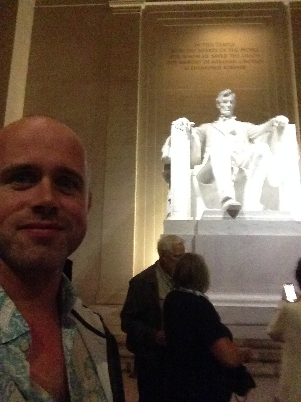 Proof that I was in Washington. I'm the one on the left.