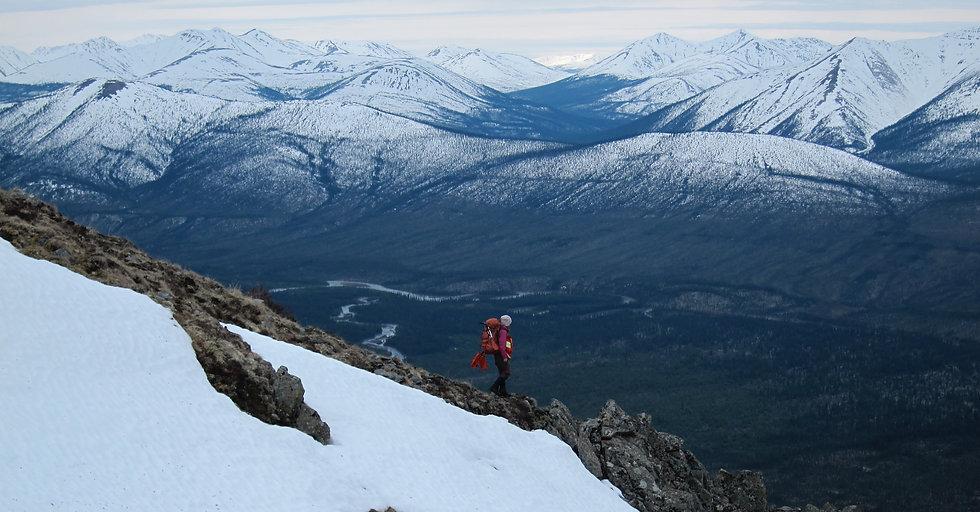 Anomalous Exploration's soil sampler in the Yukon