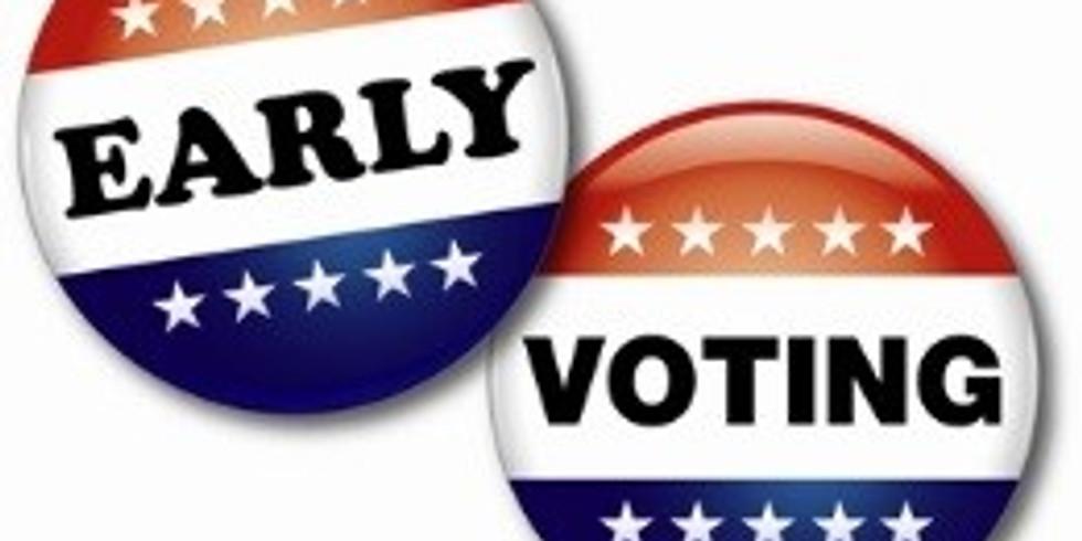 Absentee Voting 9-11am
