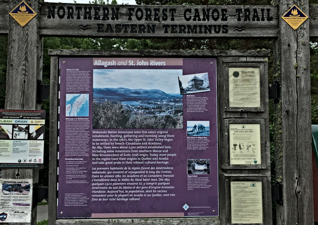 Northern Forest Canoe Trail Eastern Terminus