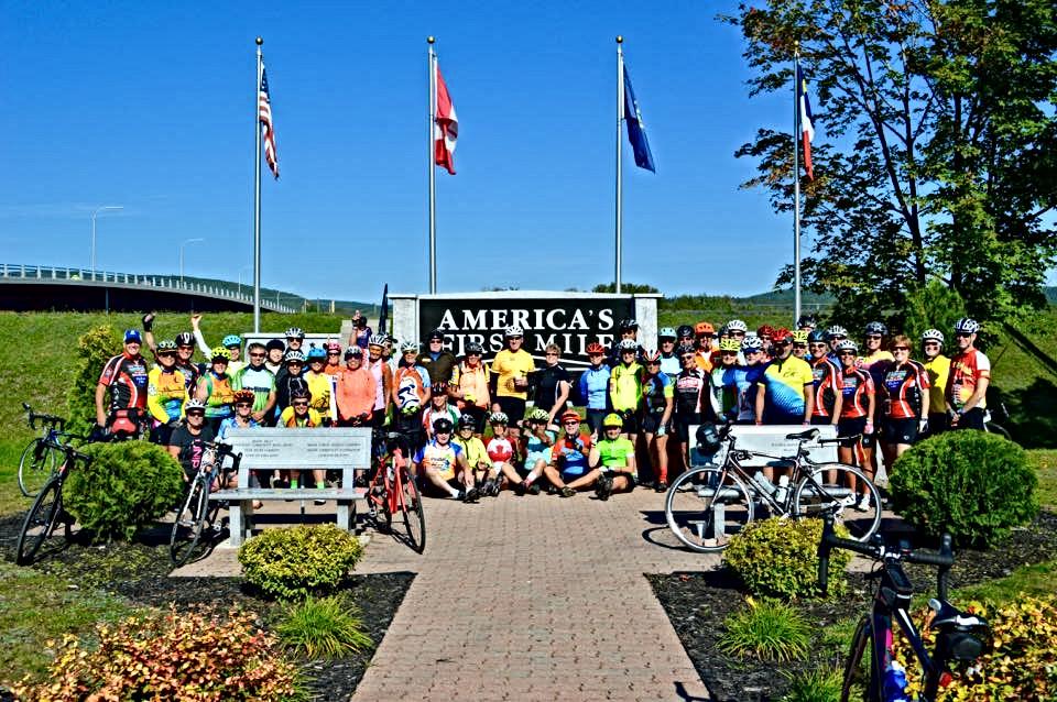 "2018 BikeMaine ""Acadia in the St. John Valley"" tour"