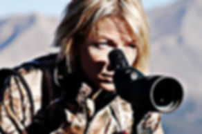 Kirstie Pike uses the BINO DOCK in her jeep to keep optics safe.