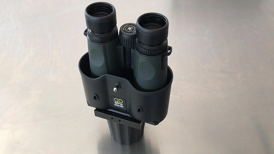 Learn how to install the BINO CAP on the BINO DOCK vehicle binocular holder.