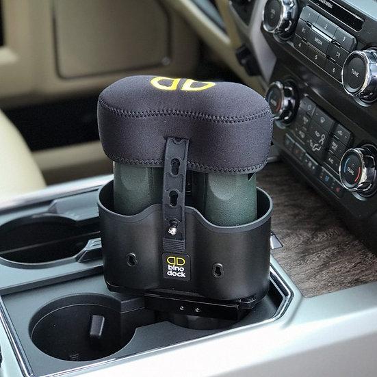 BINO CAP on BINO DOCK in truck cup holder