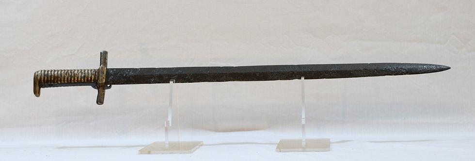 Confederate Shotgun Bayonet by Cook & Brother