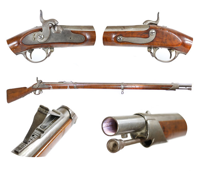 Bavarian M1842/51 Rifled and Sighted Musket