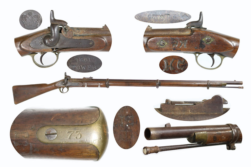 Confederate Inventory Numbered P1853 Rifle-Musket