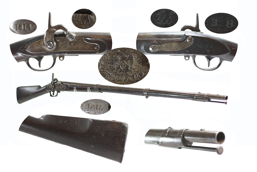 Transitional 1795 type IV - Standard Model of 1815 type I Musket