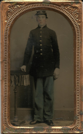 Unidentified US Marine Tintype