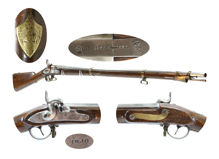 Austrian Castle Guard Musket after 1854