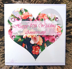 Anniversary Card £3.00