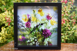 Buttercup Frame Clock £20.00