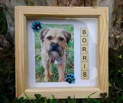 Personalised Square Frame £11.50