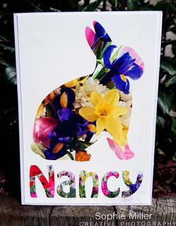 Rabbit Name Card £3.00