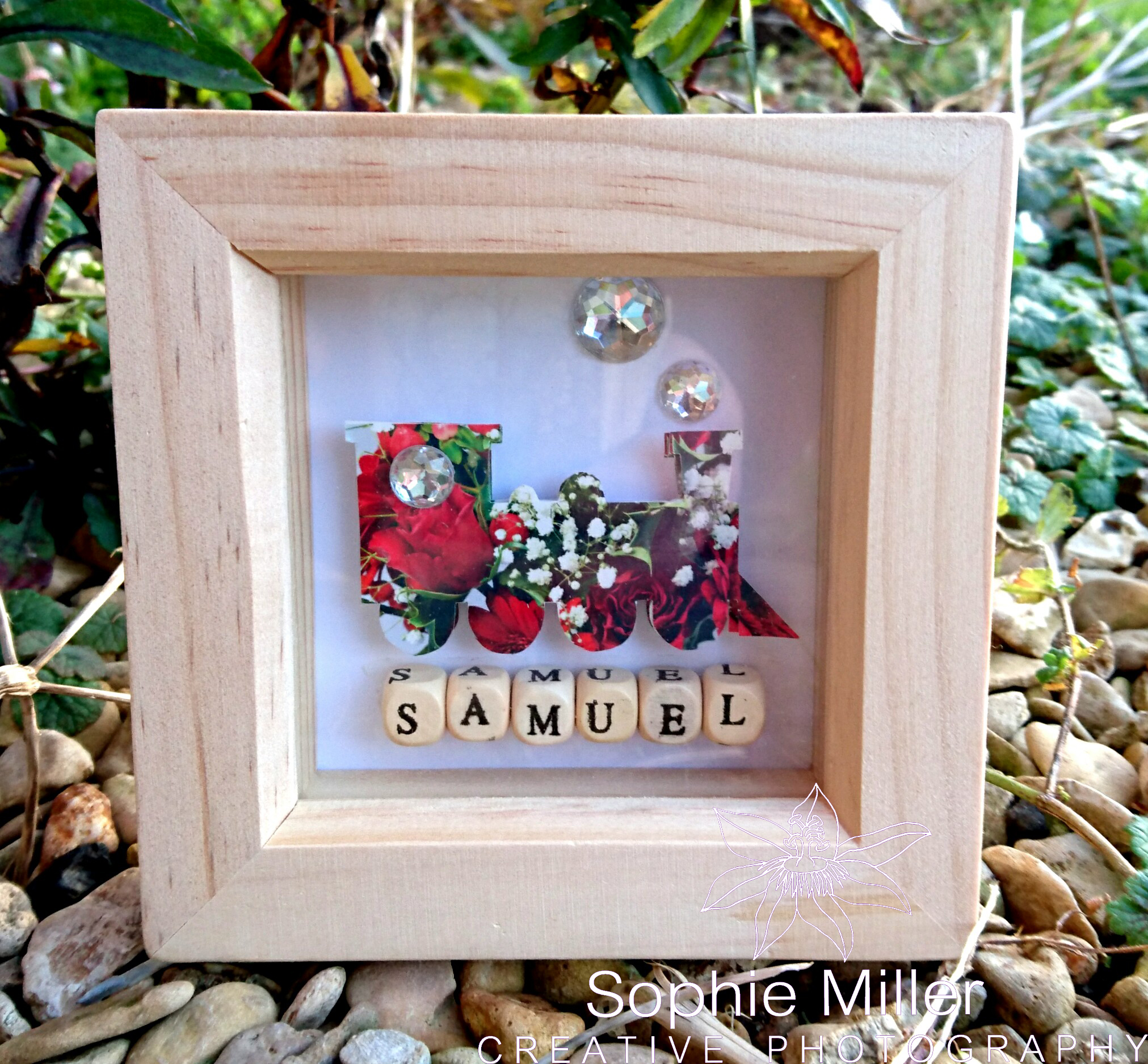 Small Train Frame £6.50