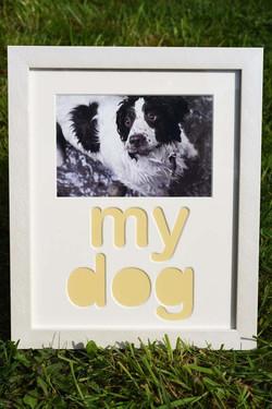 My Dog Frame £22