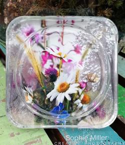 Daisy Sqaure Coaster £3.50