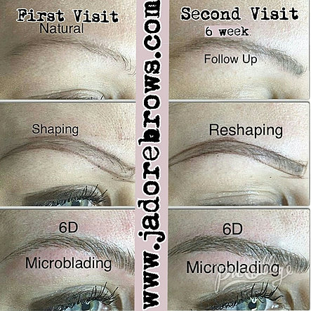 www.jadorebrows.com | MICROBLADING | WHAT TO EXPECT AFTER