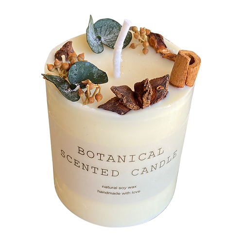 BOTANICAL SCENTED CANDLES (CODE: $3OFFSHIP)