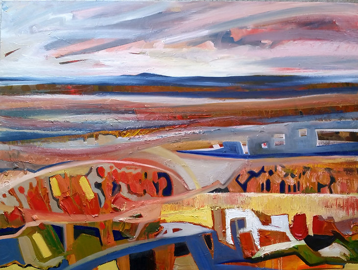 """Limited Edition Giclee Print of """"Causewaymyre - Edge of Summer"""""""