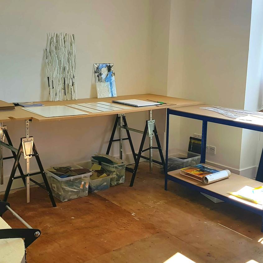 Dedicated Glass Studio Space.
