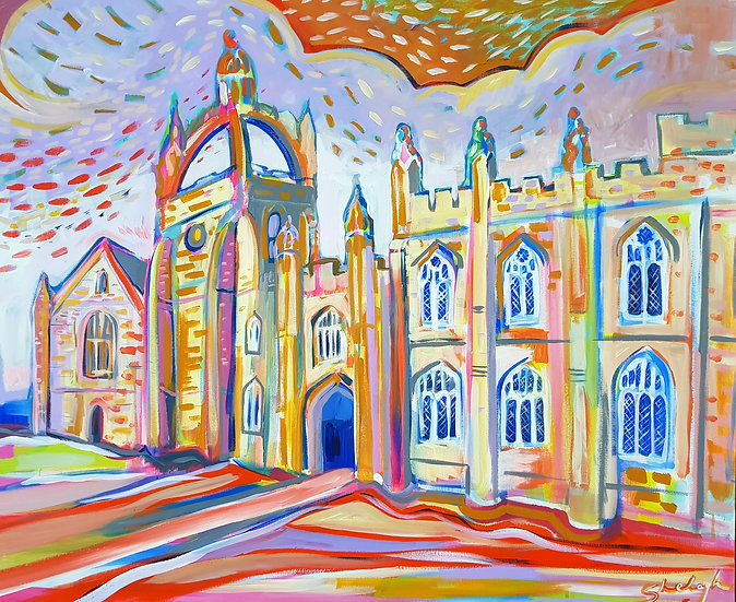 King's College - Open Edition Print