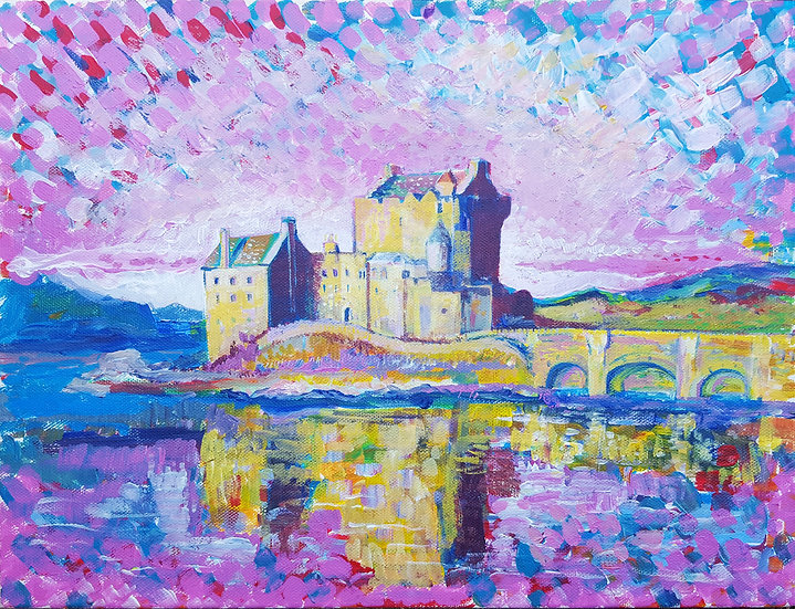 Eilean Donan Castle - Framed Open Edition Print
